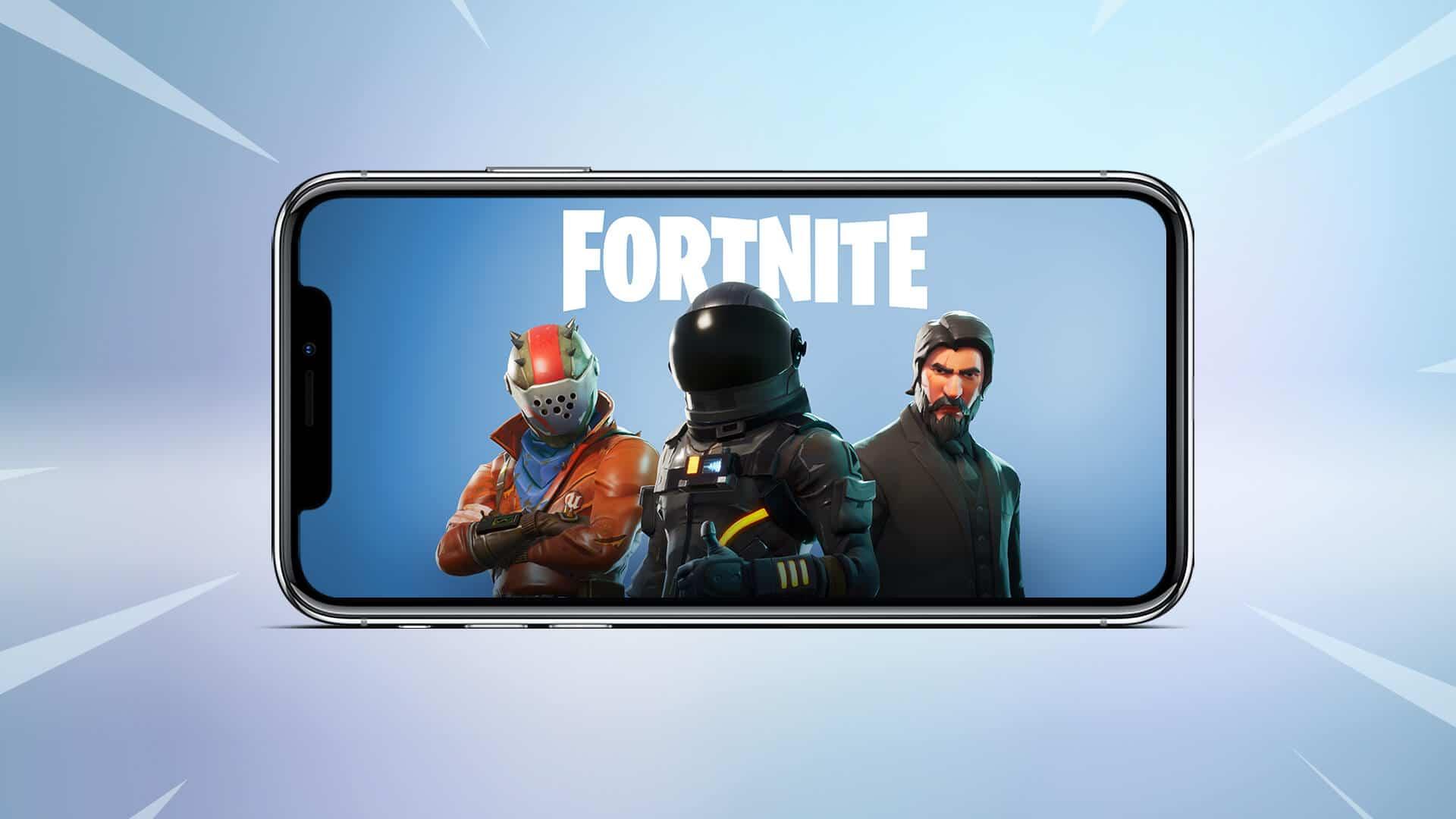 Fortnite no iPhone