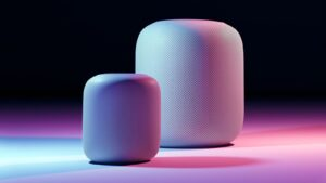 "Mockup de ""HomePod mini"""