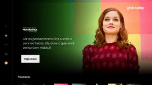 App Globoplay na Apple TV