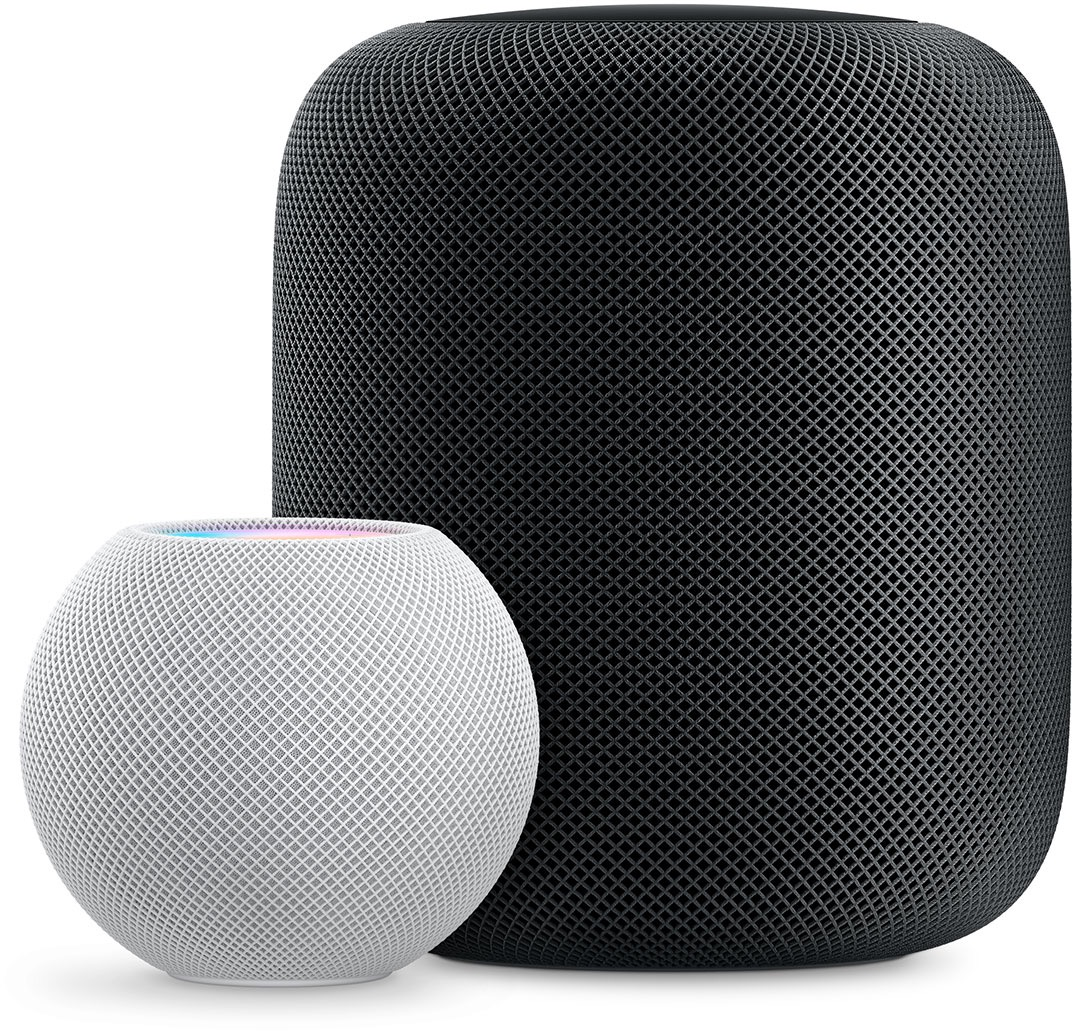 HomePod mini e HomePod