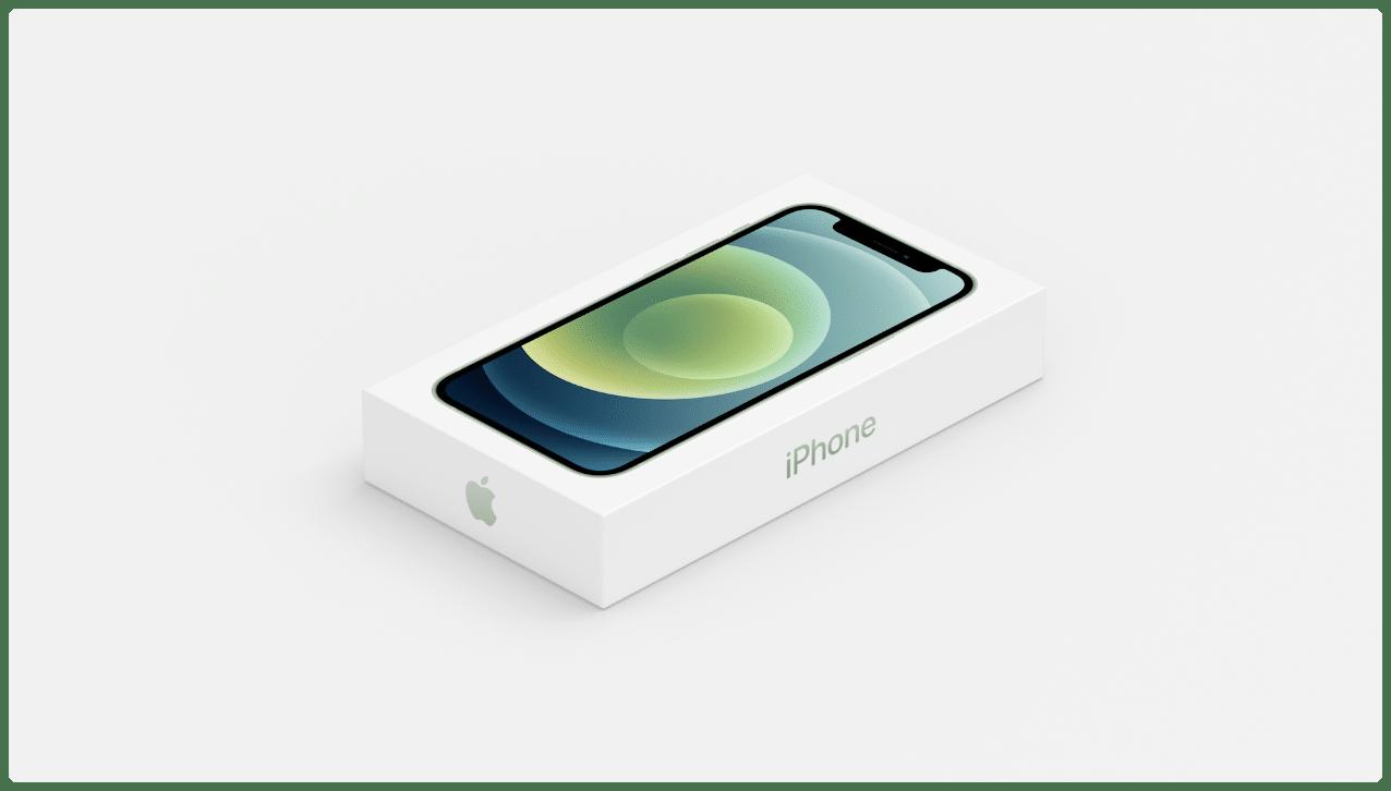 Caixa do iPhone 12