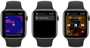 App YouTube Music para Apple Watch