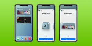 Widgets do Spotify no iOS 14