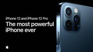 Comercial dos iPhones 12 Pro e 12 Pro Max
