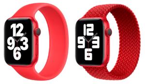 Pulseiras loop solo e loop solo trançada (PRODUCT)RED