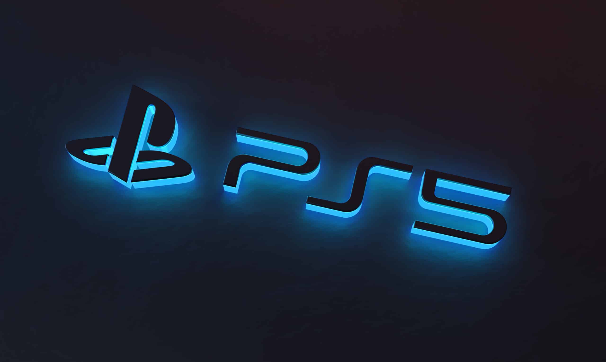 Logo/marca do Sony PlayStation 5 (PS5)