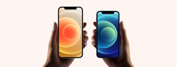 iPhones 12 e 12 mini