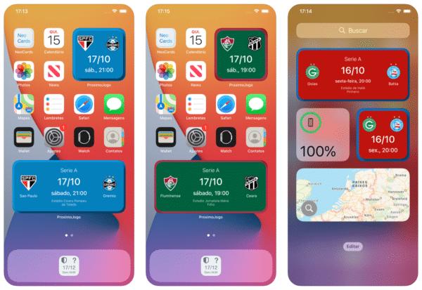 App e widget ProximoJogo