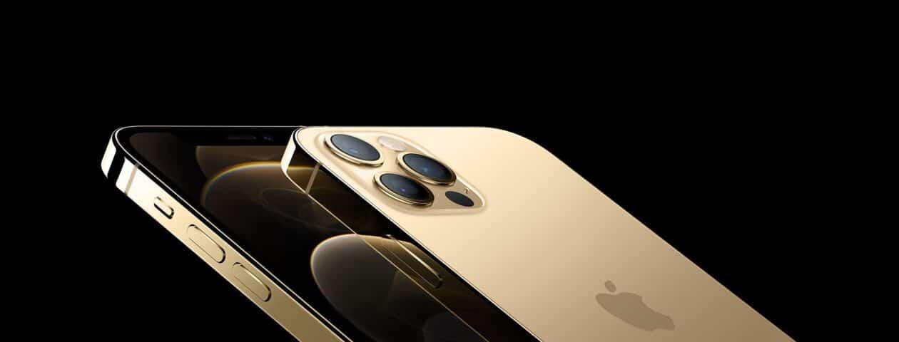 iPhone 12 Pro dourado