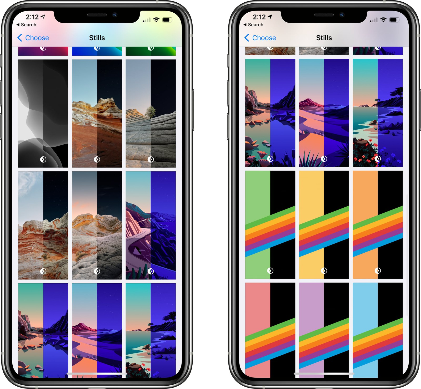Wallpapers do iOS 14.2 beta 4