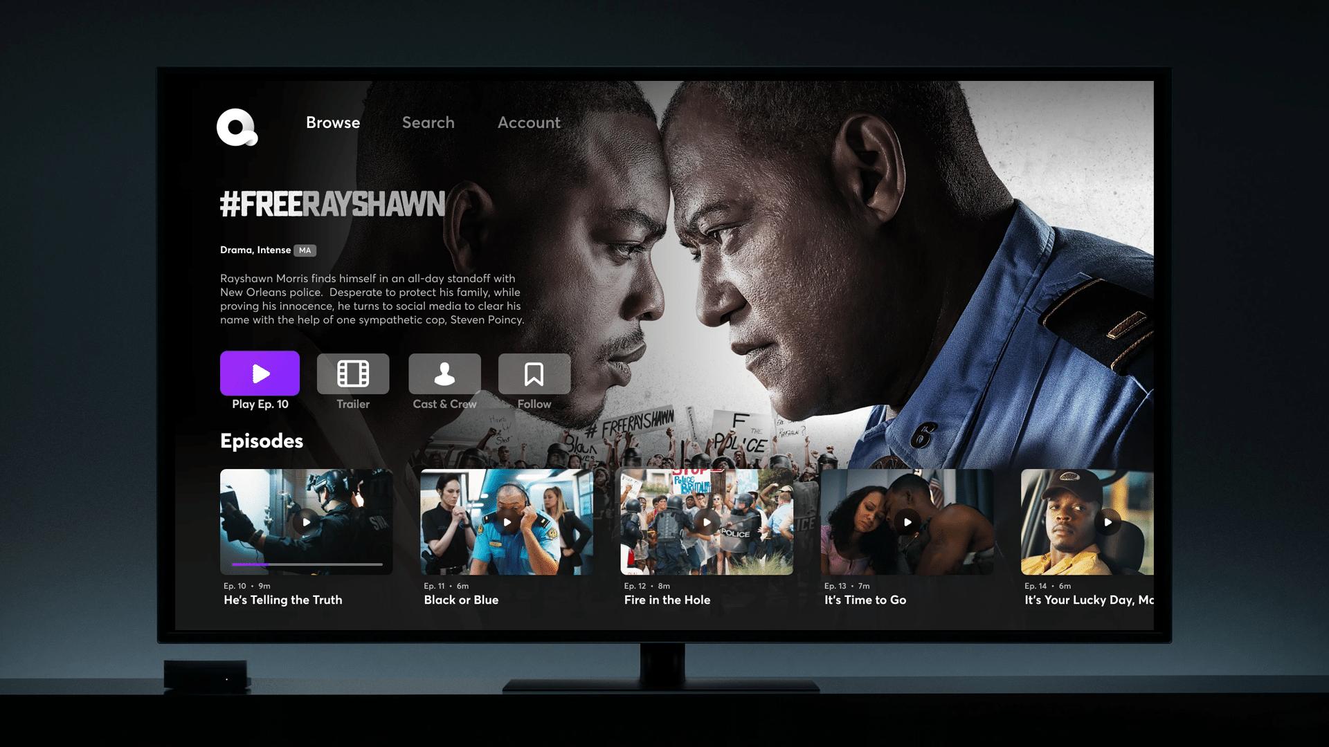 Quibi na Apple TV