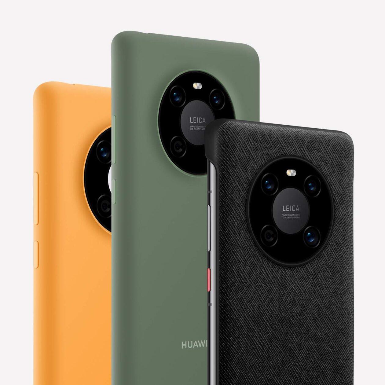 Câmeras: Huawei Mate 40