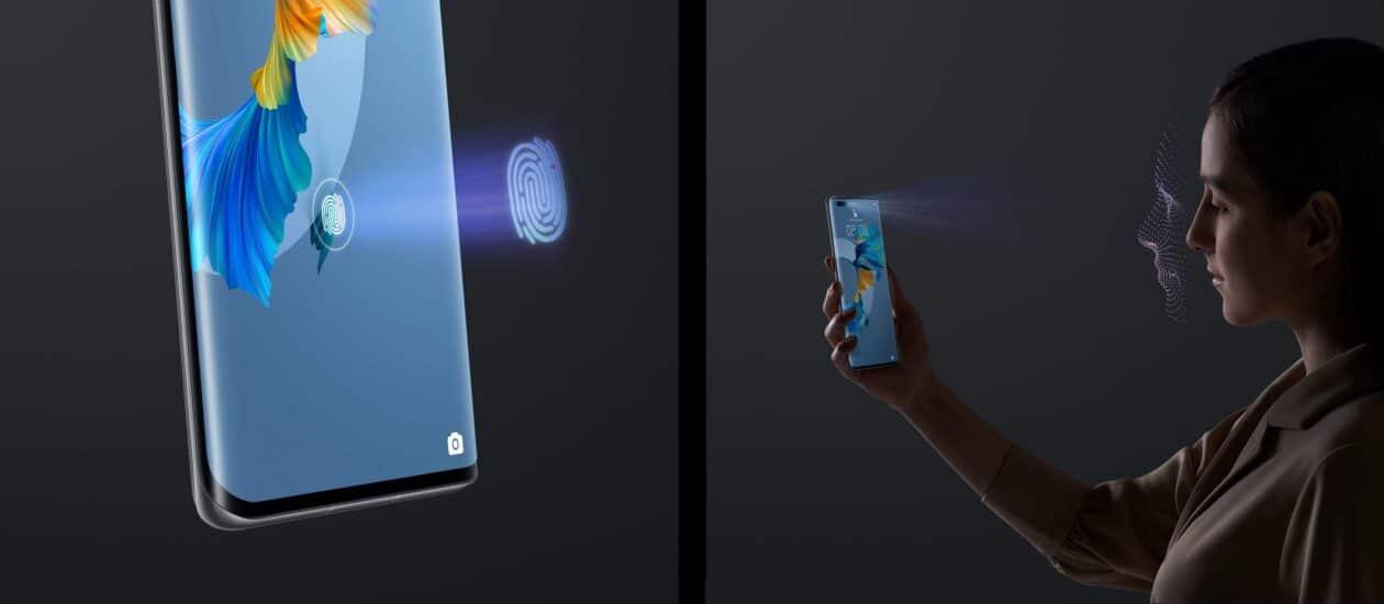 Sensor da câmera frontal do Huawei 40