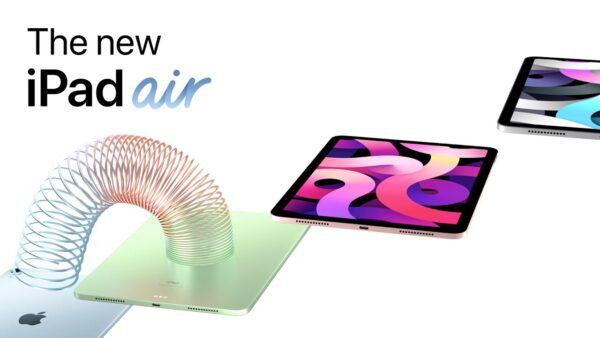 Comercial do iPad Air