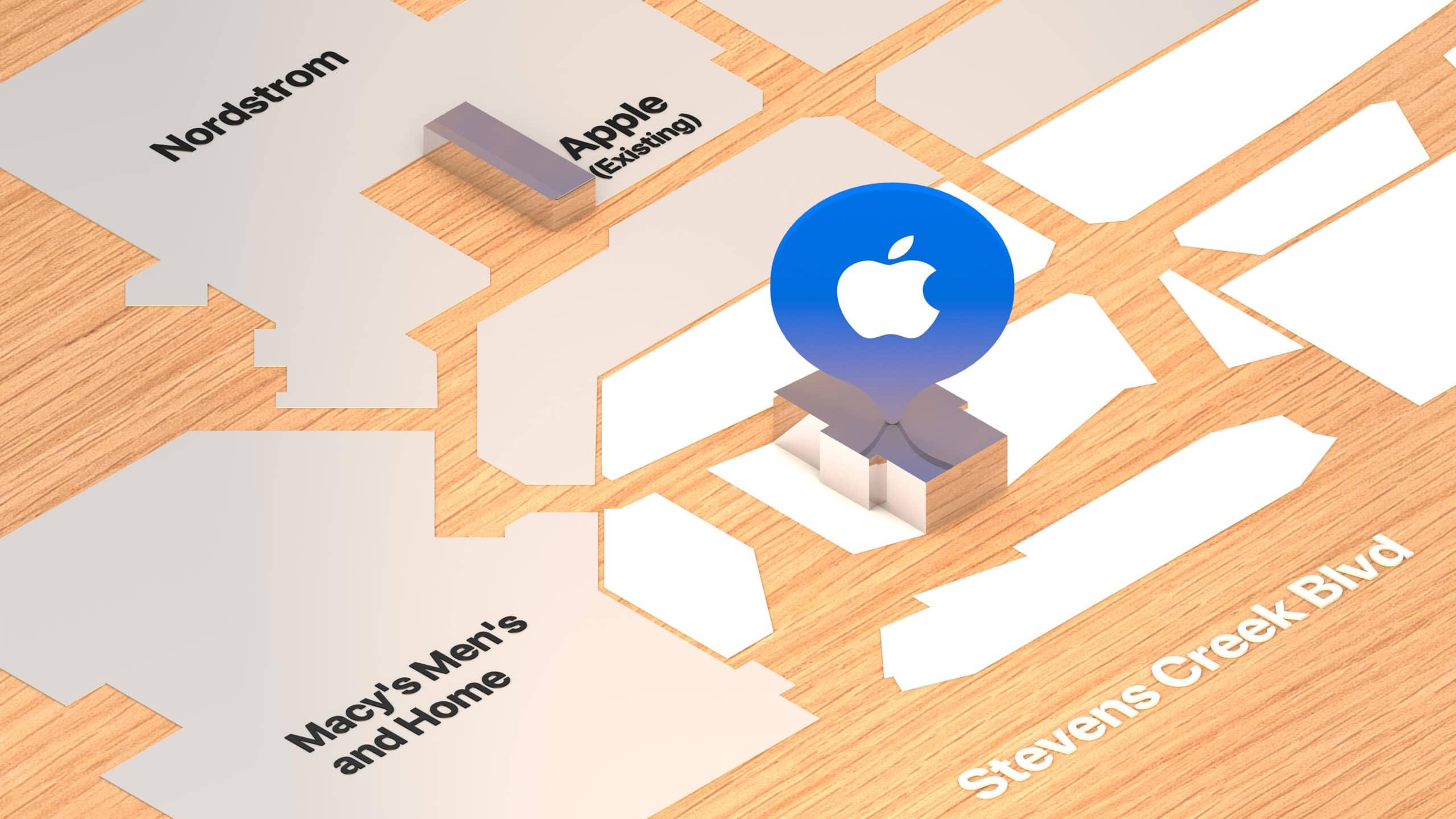 Mapa da nova Apple Valley Fair