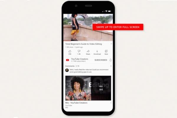 Novidades no app do YouTube