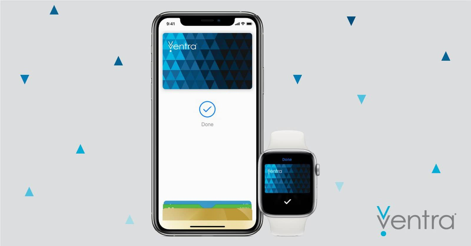 Cartão Ventra no Apple Pay