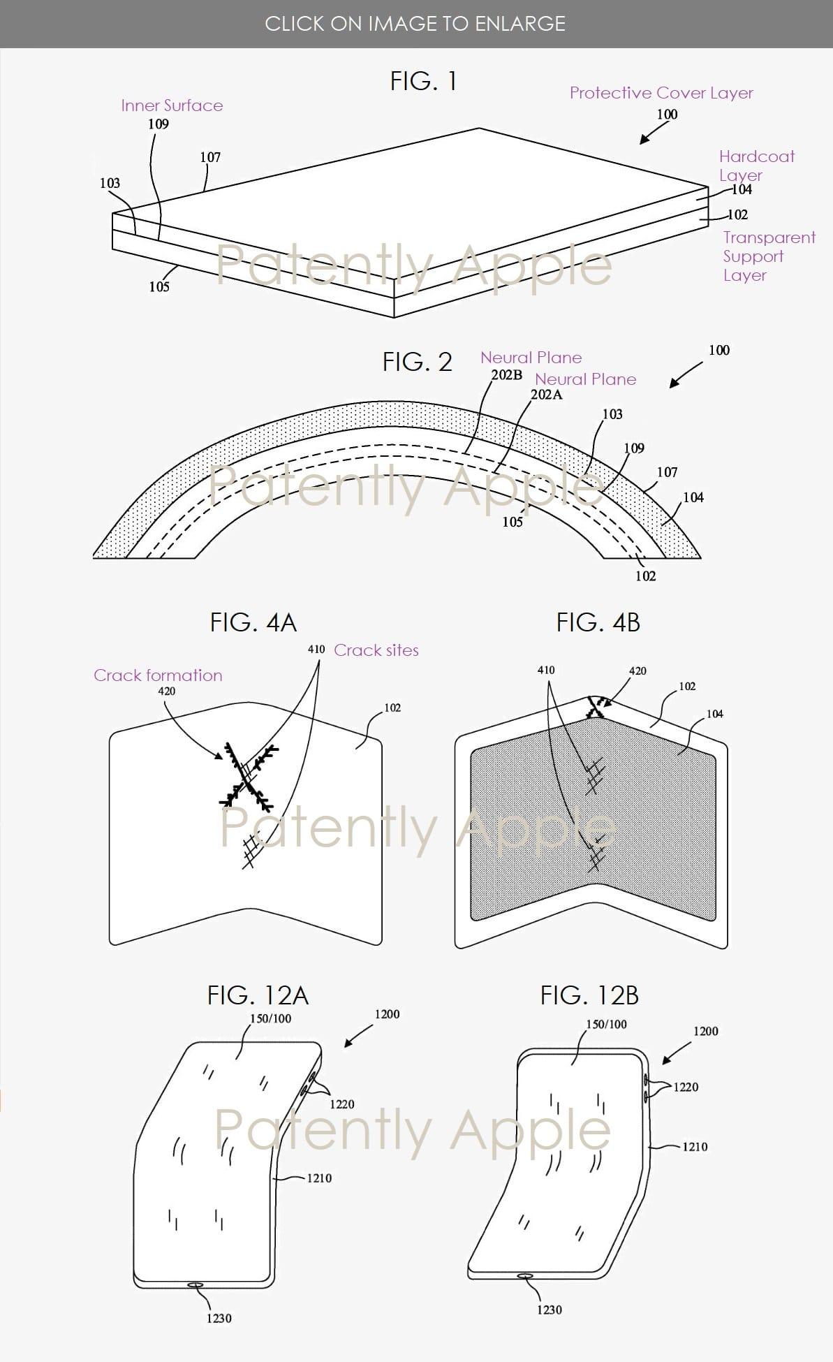 Pantete da Apple de display mais resistente