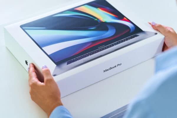 Caixa do MacBook Pro