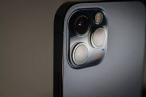 Câmera do iPhone 12 Pro