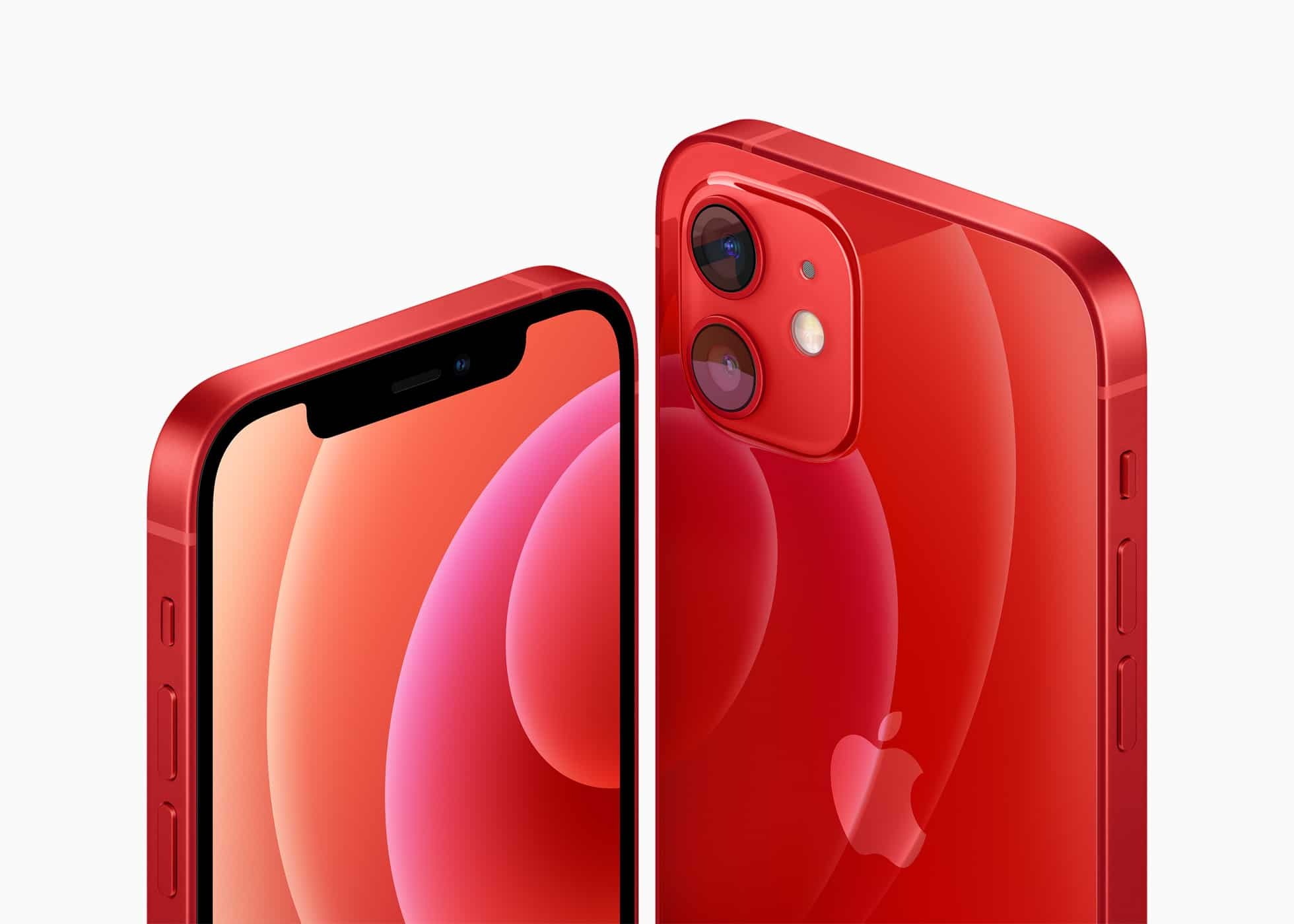 iPhone 12 na cor vermelha — (PRODUCT)RED