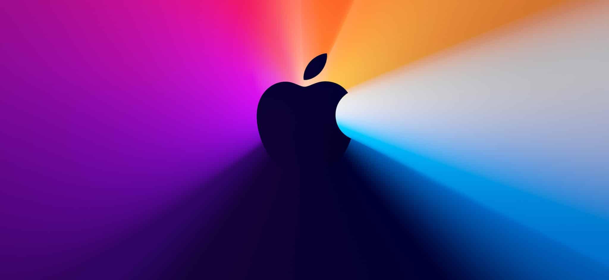 Banner do evento especial da Apple em novembro