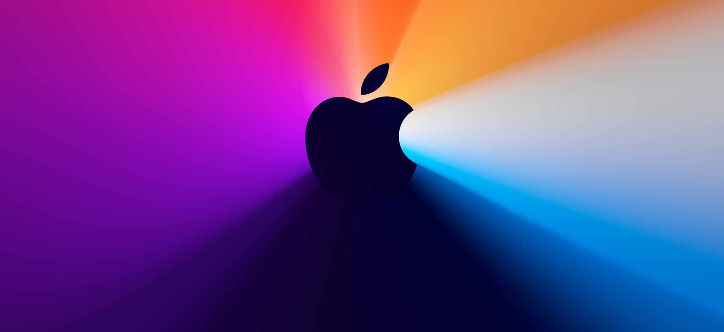 Banner do evento especial da Apple em novembro