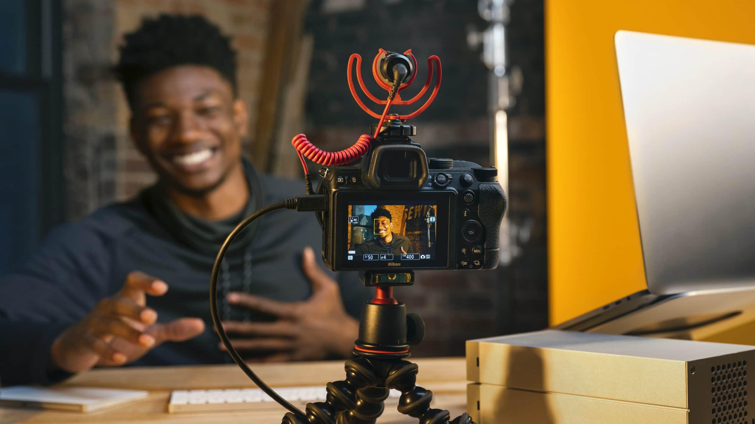Câmera da Nikon como webcam de Mac