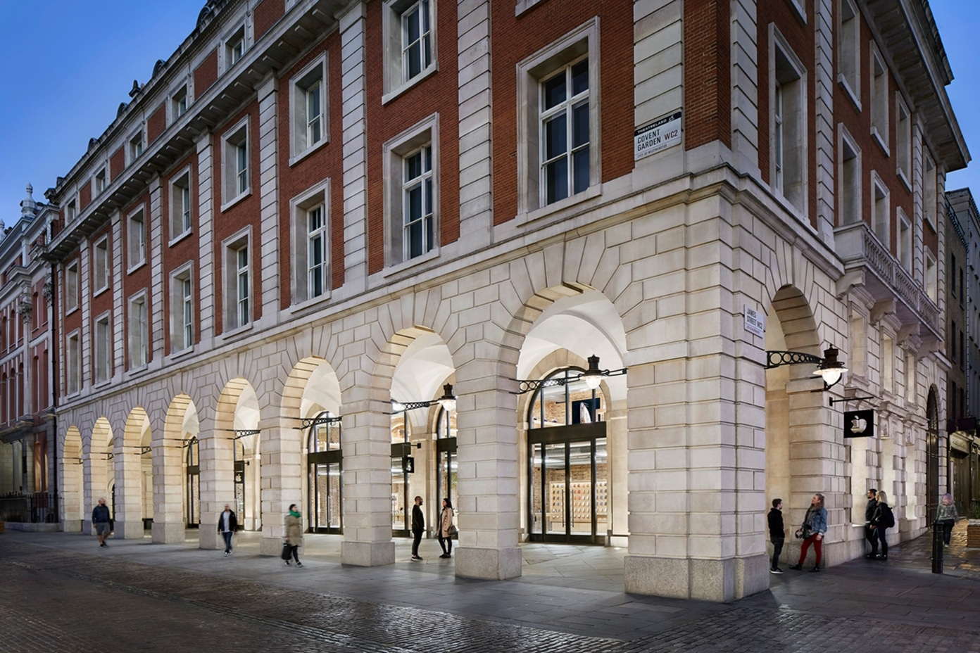 Apple Covent Garden em Londres (Reino Unido)