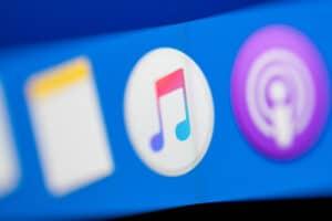 Aplicativo Música para macOS