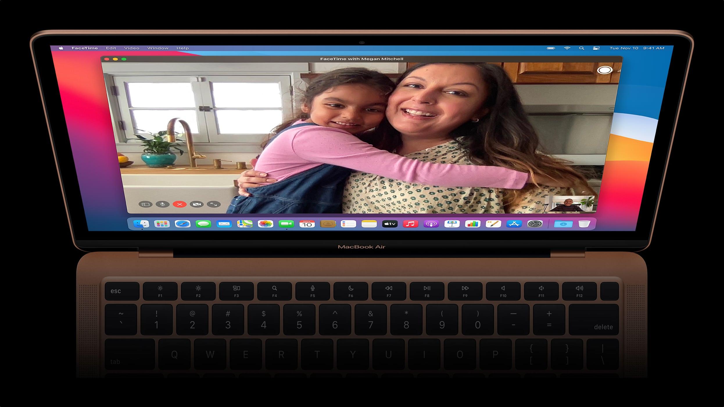Câmera do MacBook Air