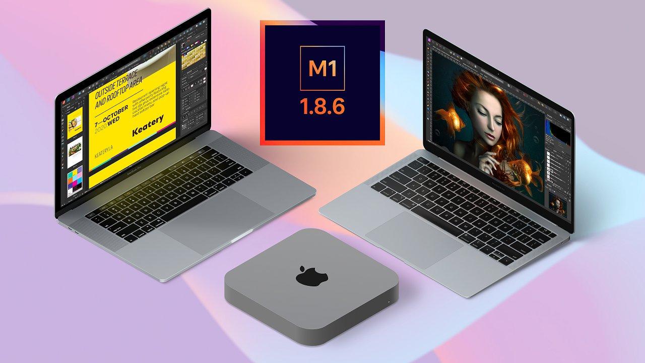 Apps Affinity prontos para o chip M1