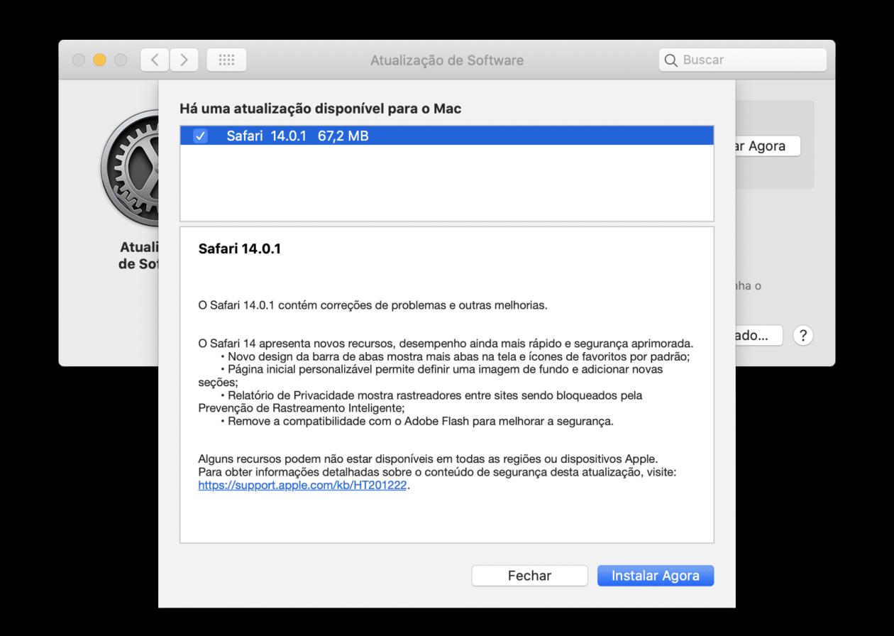 Safari 14.0.1