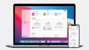 Informações de privacidade no macOS e no iOS