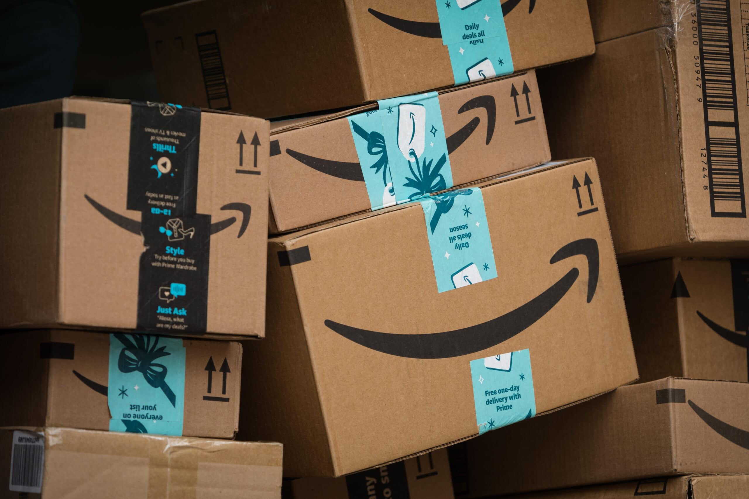 Caixas da Amazon