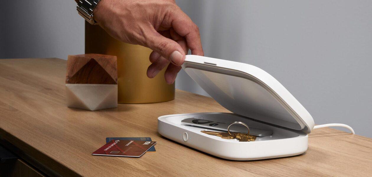 UV Sanitizer + Wireless Charger da Belkin