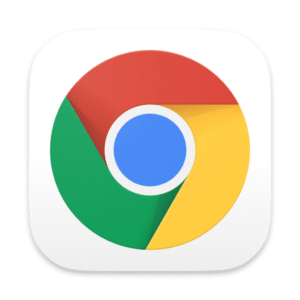 Ícone do Google Chrome 87 no macOS Big Sur