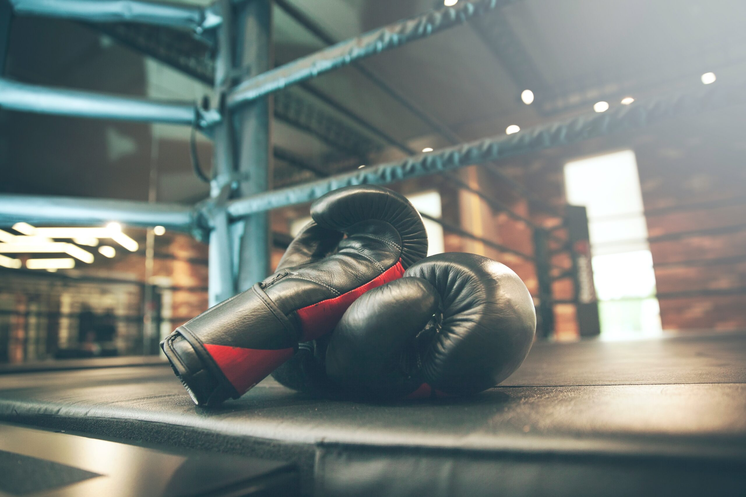 Luvas de boxe