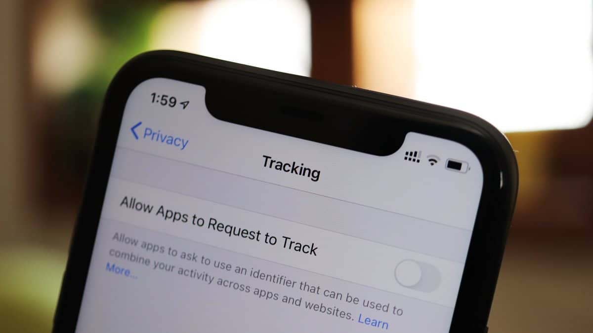 Recurso de rastreamento do iOS