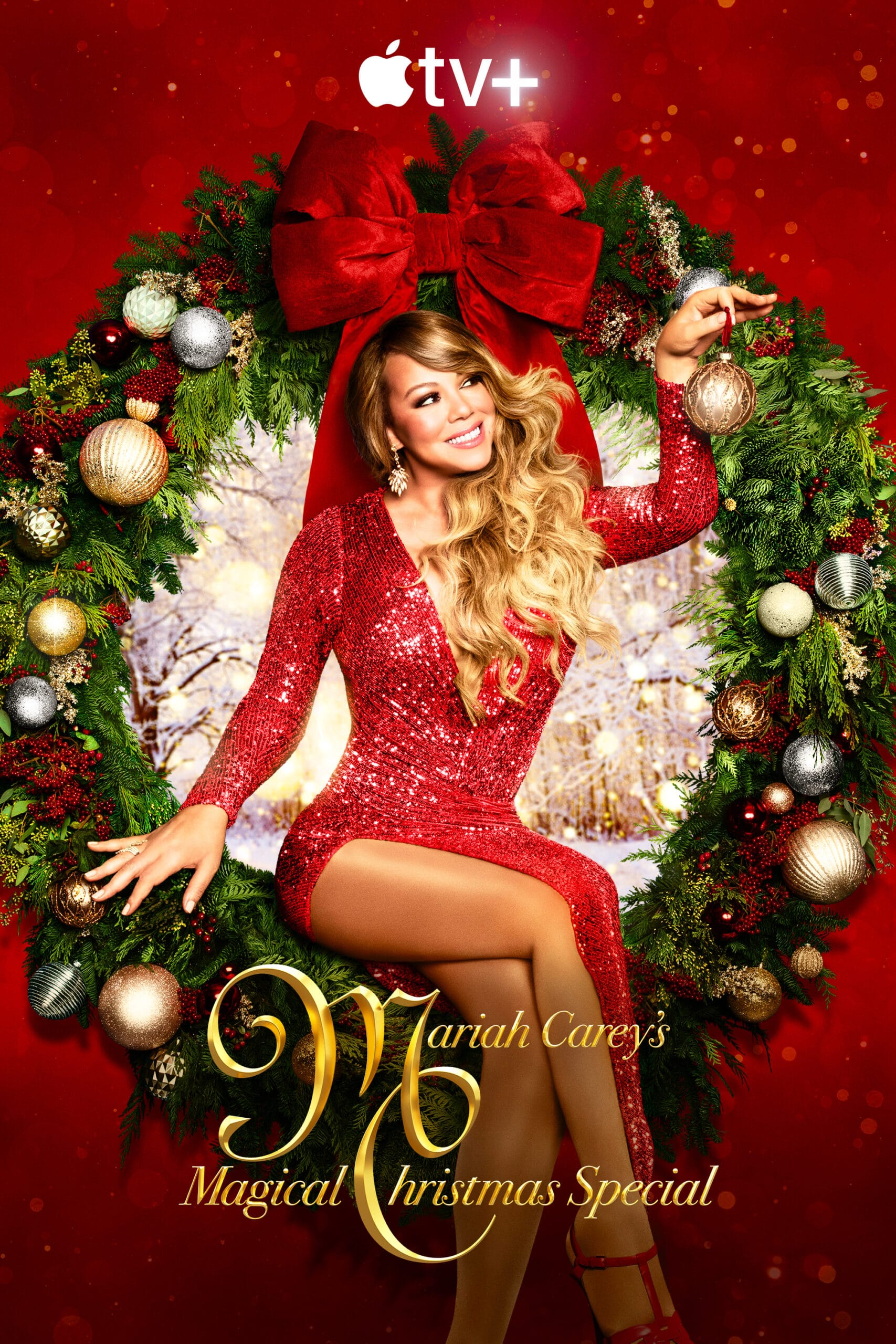 Especial de Natal do Apple TV+ com Mariah Carey