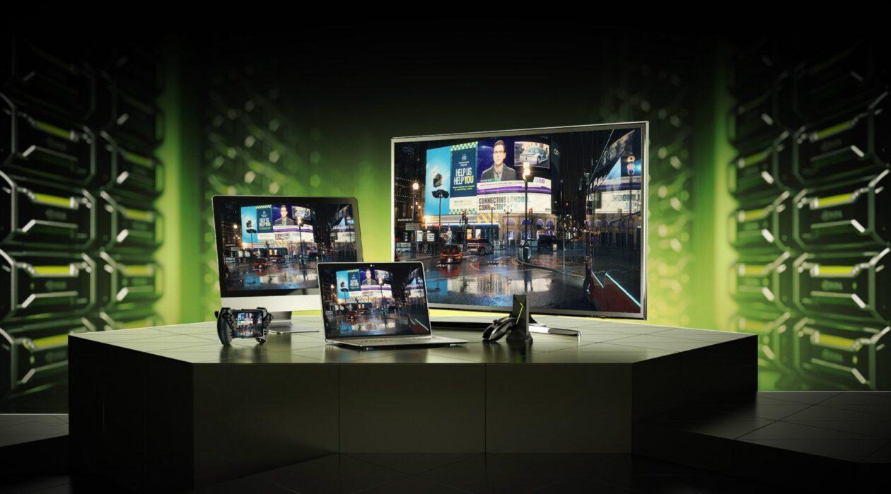 GeForce NOW em vários dispositivos