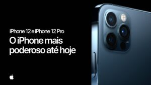 Comercial dos iPhones 12 no Brasil