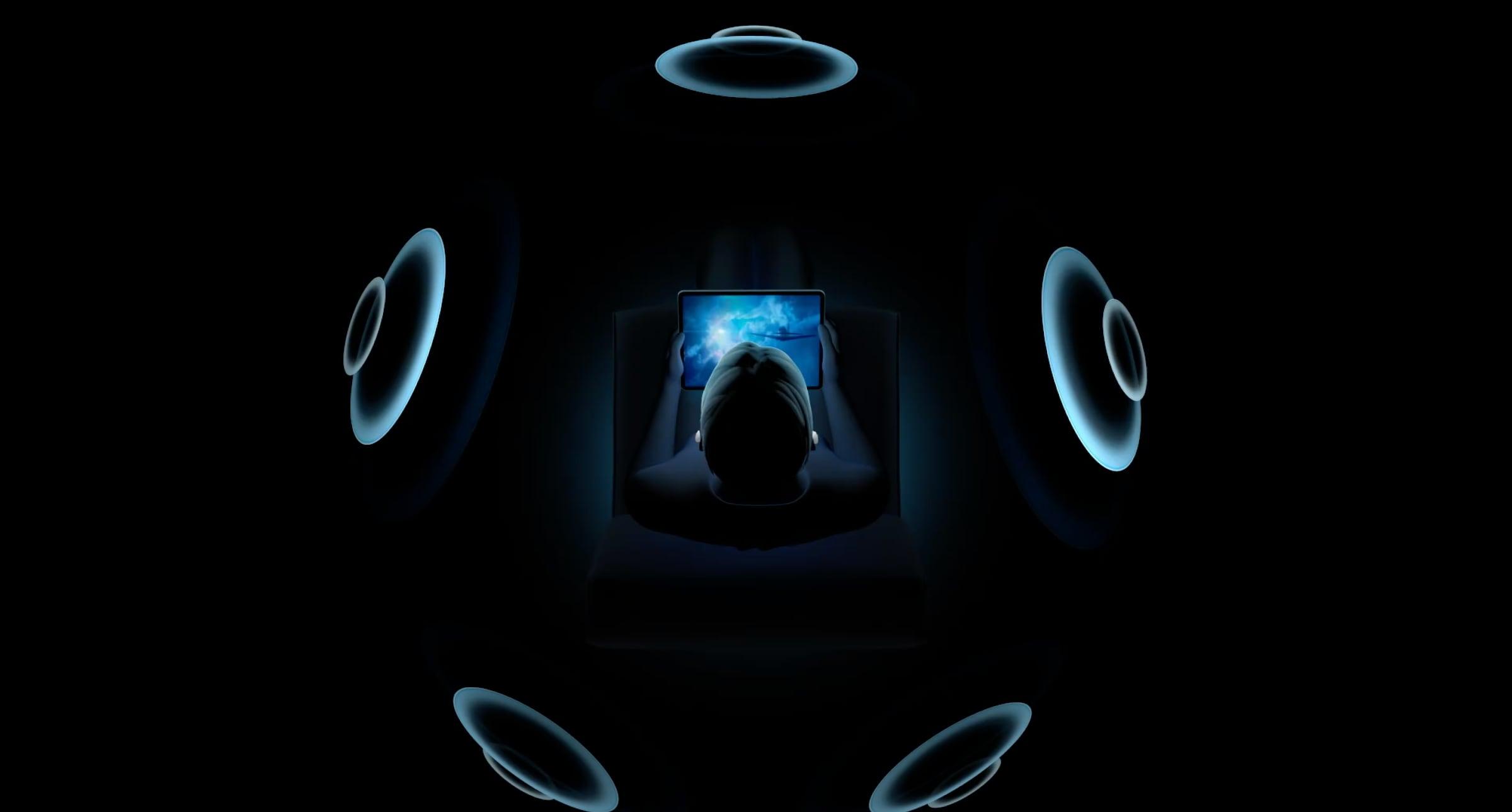 Áudio Espacial nos AirPods Pro