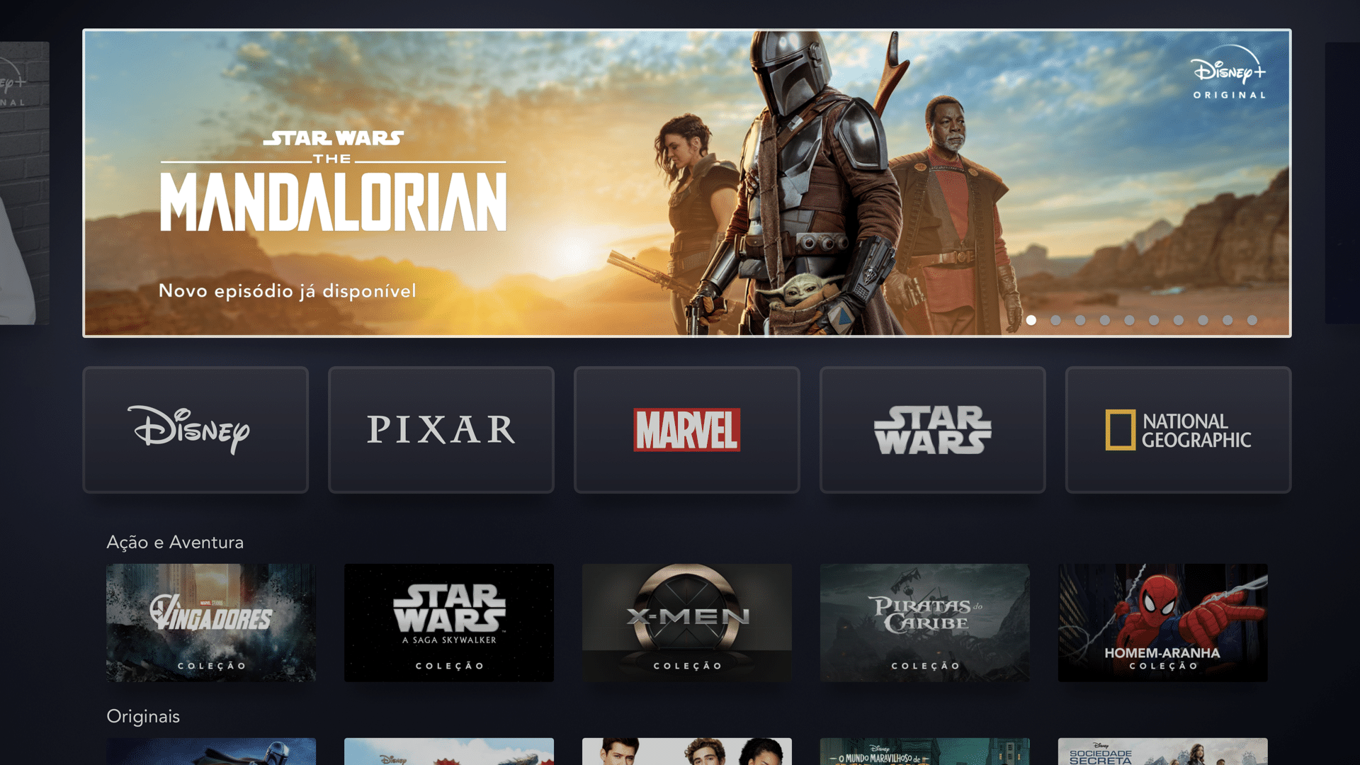 Disney+ no Apple TV