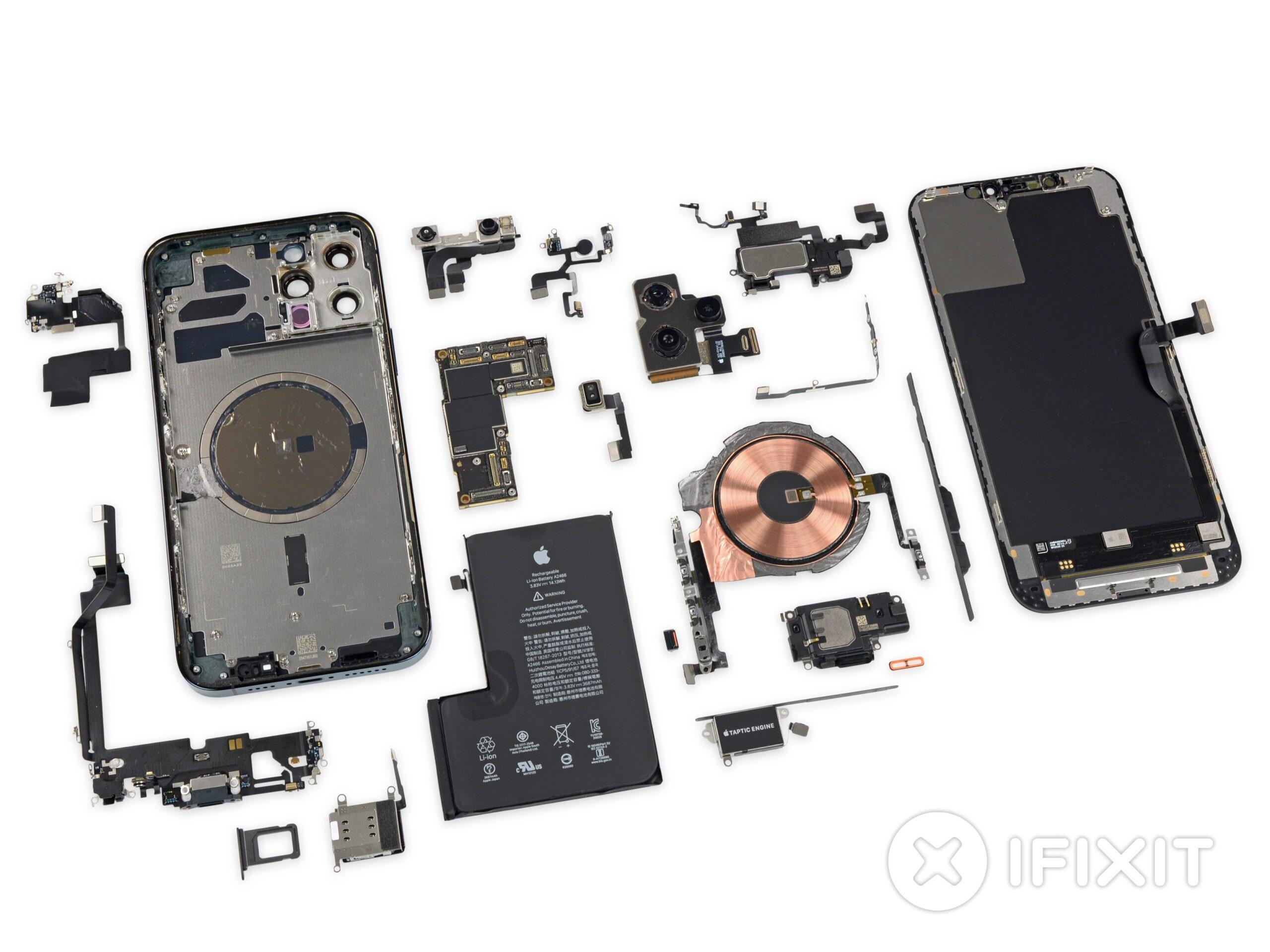 iFixit desmonta o iPhone 12 Pro Max