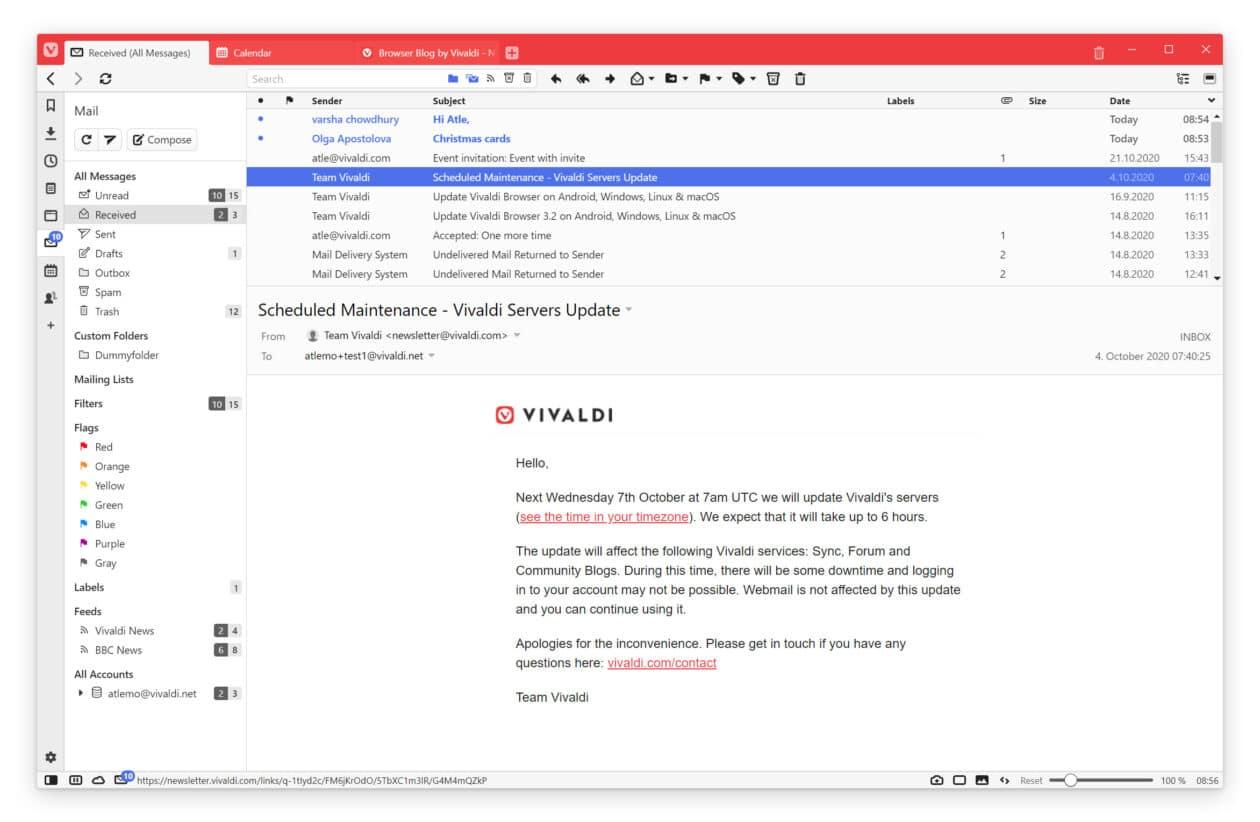 Vivaldi Mail