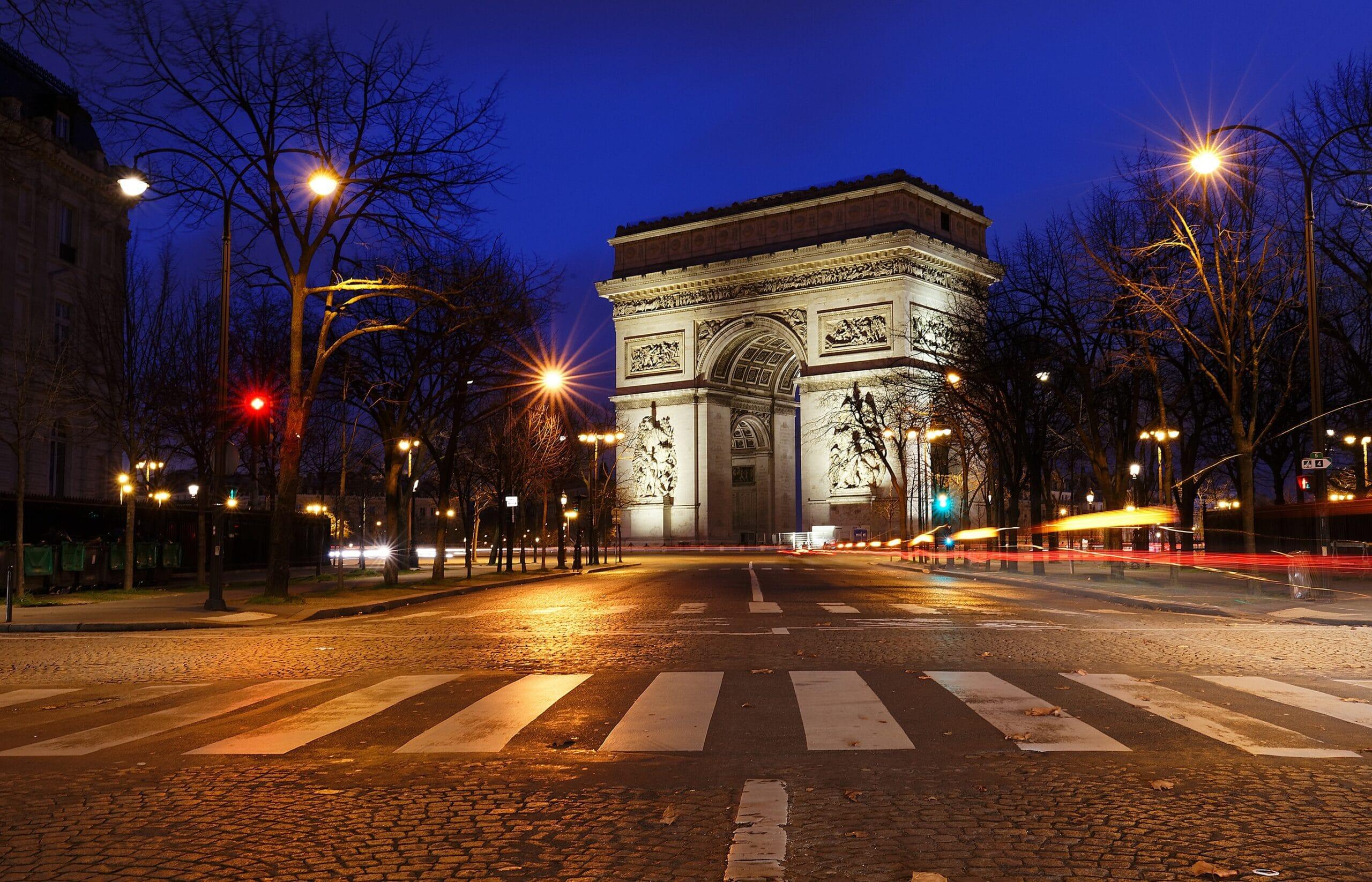 Arco do Triunfo, em Paris