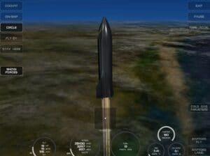 Simulador de foguete X-Plane: Starship