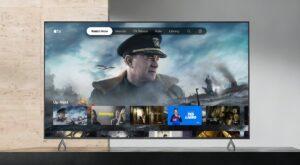 App Apple TV em Smart TVs da Sony