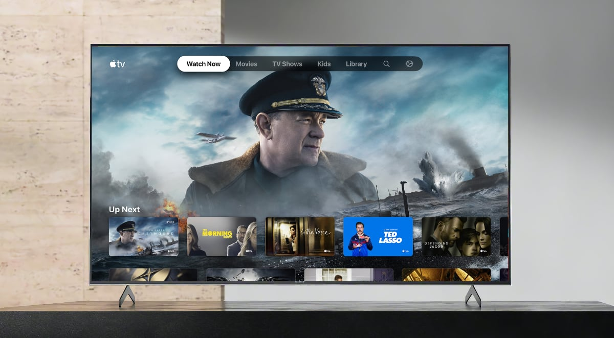App Apple TV em Smart TVs da Sony